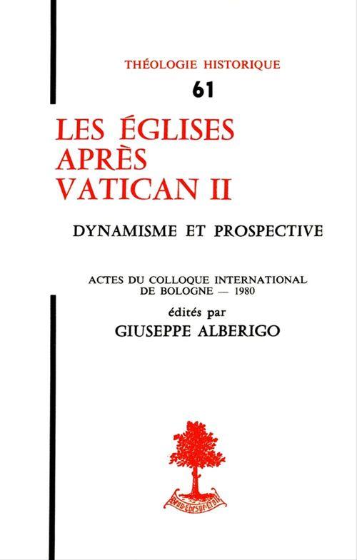 Les Églises après Vatican II