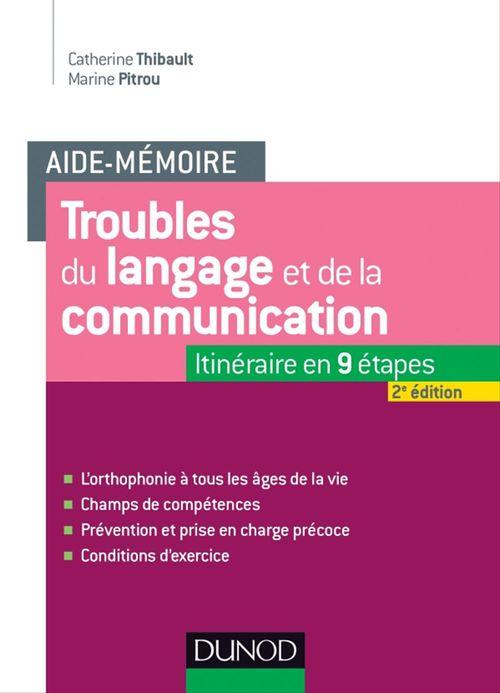 Marine Pitrou Aide-mémoire - Troubles du langage et de la communication - 2e éd.