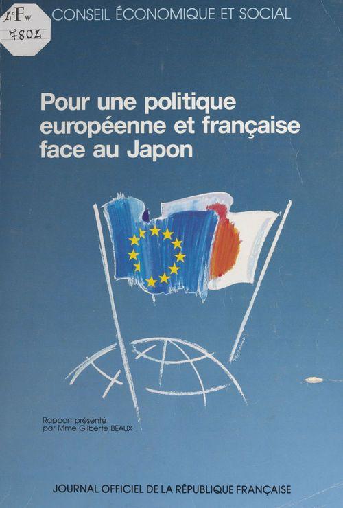 Pour une politique européenne et française face au Japon