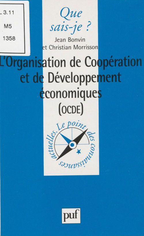 Christian Morrisson L'Organisation de coopération et de développement économiques