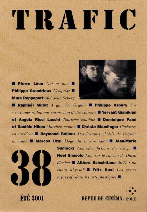 Trafic n° 38 (Eté 2001)