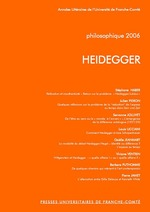 Philosophique 2006 ; Heidegger