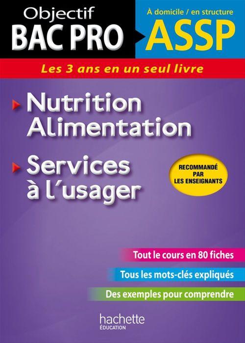 Jean-Yves Gola Fiches ASSP Services à l'usager, Nutrition-Alimentation