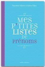 Solène Fabre Mes P'tites listes de prénoms