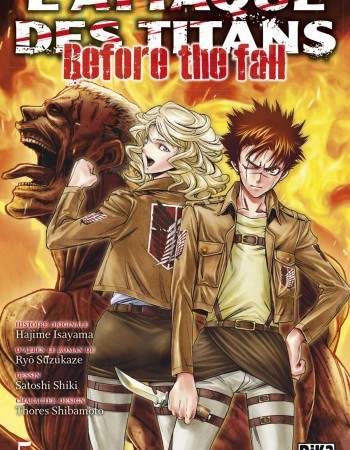Ryô Suzukaze L'Attaque des Titans - Before the Fall - Tome 5 - L'Attaque des Titans - Before the Fall T05