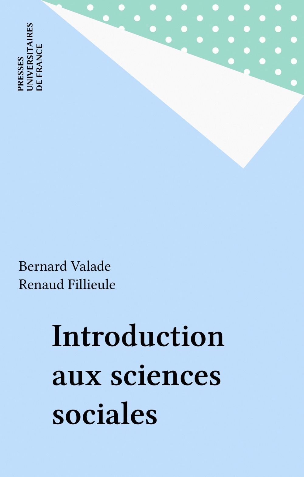 Bernard Valade Introduction aux sciences sociales