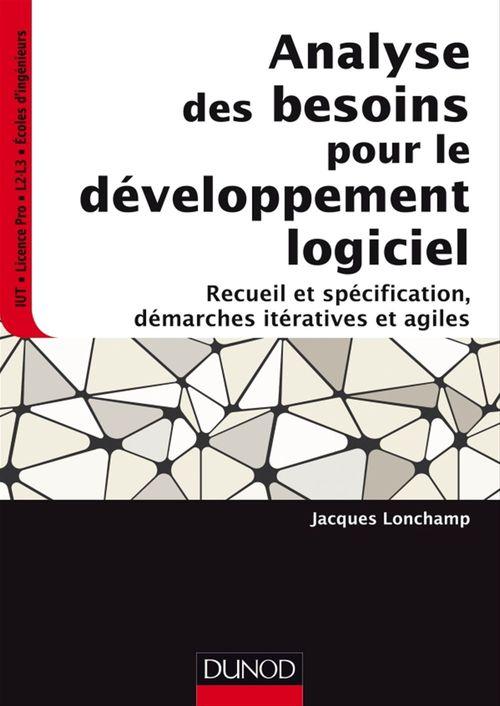 Jacques Lonchamp Analyse des besoins pour le développement logiciel