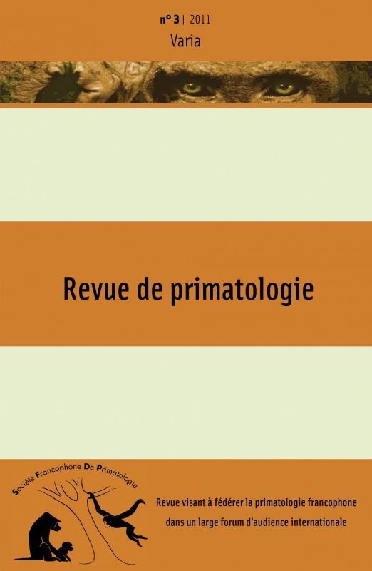 3 | 2011 - Varia - Primatologie
