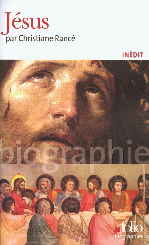 Christiane Rancé Jésus