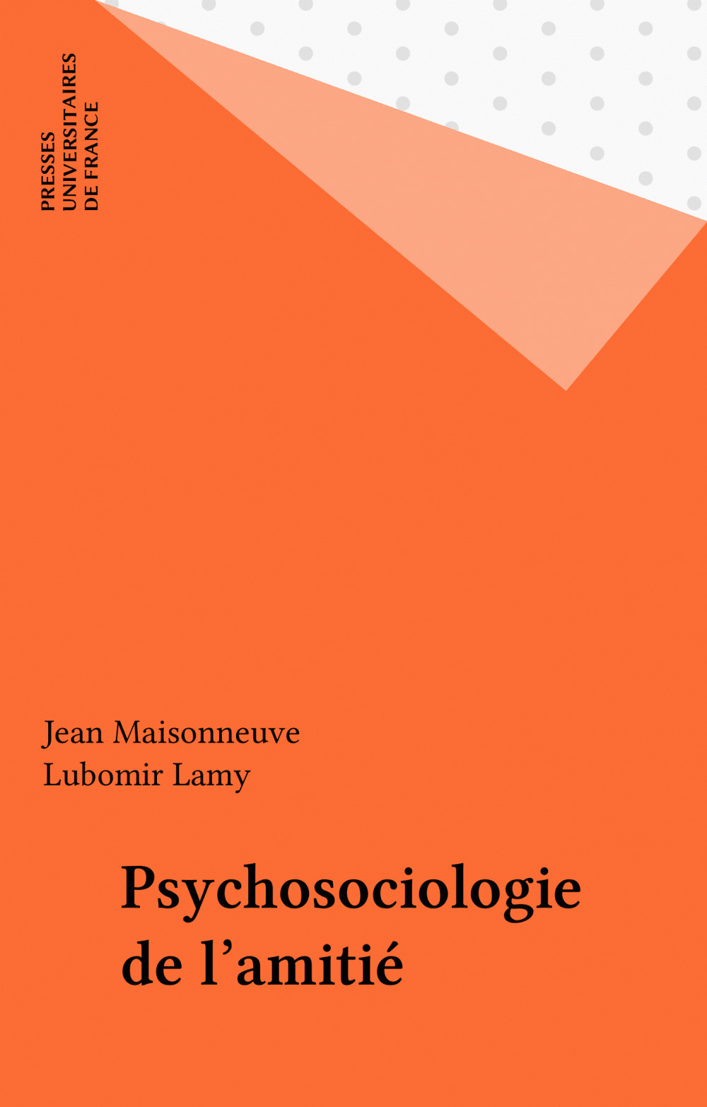 Psychosociologie de l'amitié