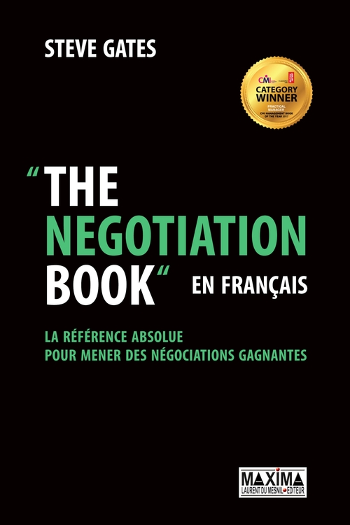 Steve Gates The Negotiation Book... en français