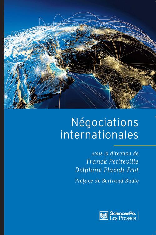 Franck PETITEVILLE Négociations internationales