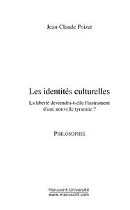 Les identités culturelles