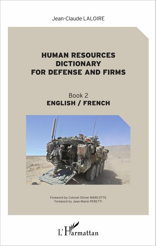 Jean-Claude Laloire Human resources dictionary for defense and firms