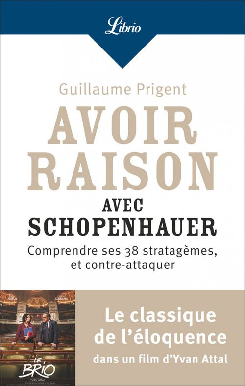 Avoir Raison Avec Schopenhauer