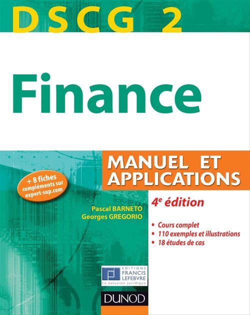 Pascal Barneto DSCG 2 - Finance - 4e édition