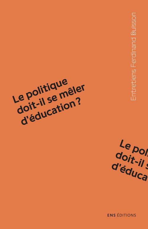 Olivier Rey Le politique doit-il se mêler d´éducation ?