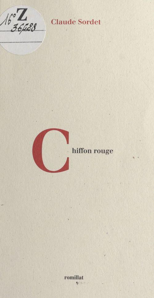 Chiffon rouge
