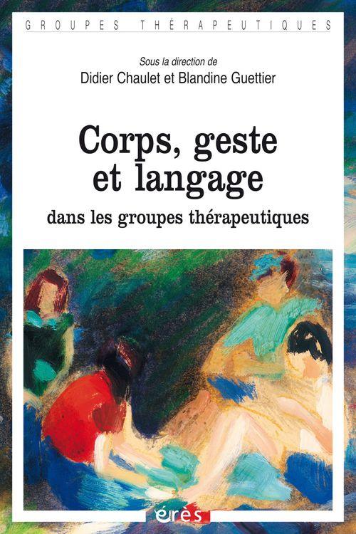 Blandine GUETTIER Corps, geste et langage