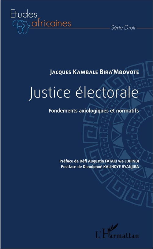 Jacques Kambale Bira'mbovote Justice électorale