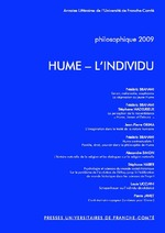 Philosophique 2009 ; Hume, l'individu