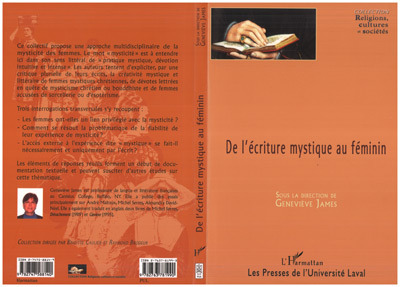 Genevieve James De l'écriture mystique au féminin