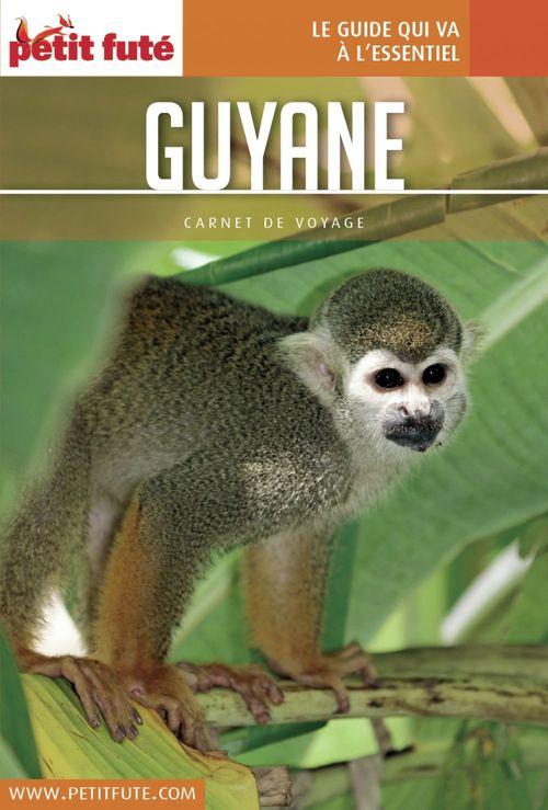 Dominique Auzias GUYANE 2017 Carnet Petit Futé
