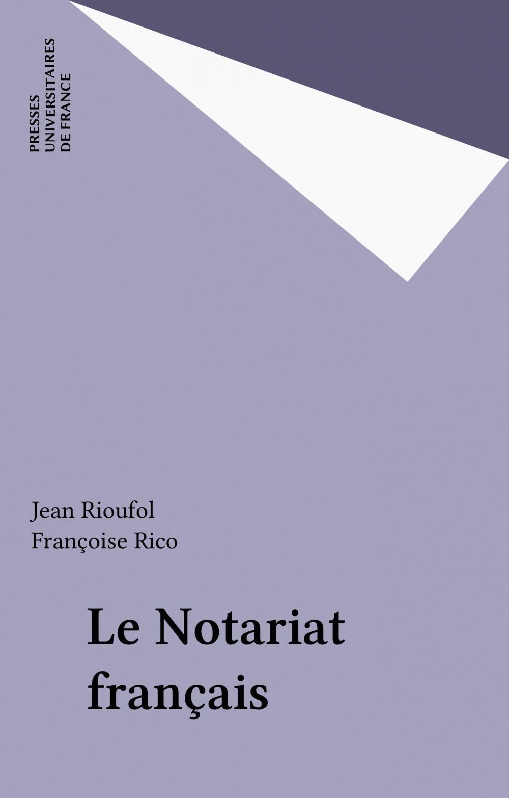 Le Notariat français