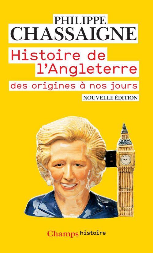 Philippe Chassaigne Histoire de l'Angleterre