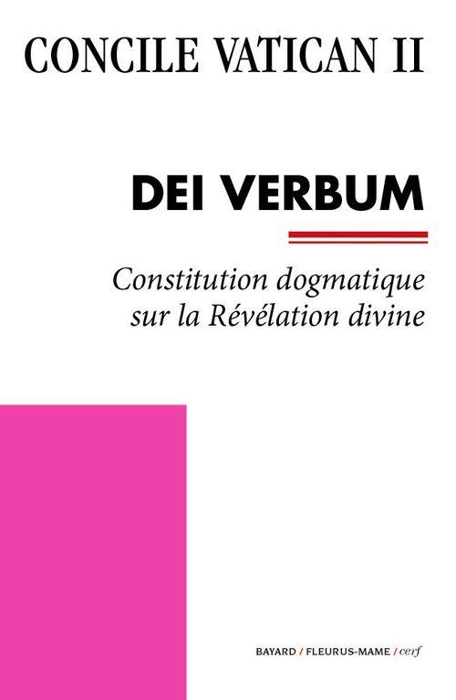 Concile Vatican II Dei Verbum