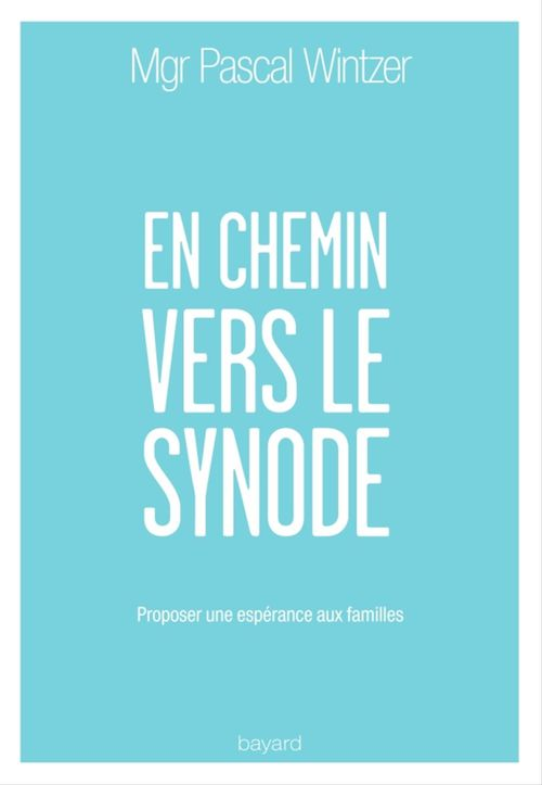 Pascal Wintzer En chemin vers le synode