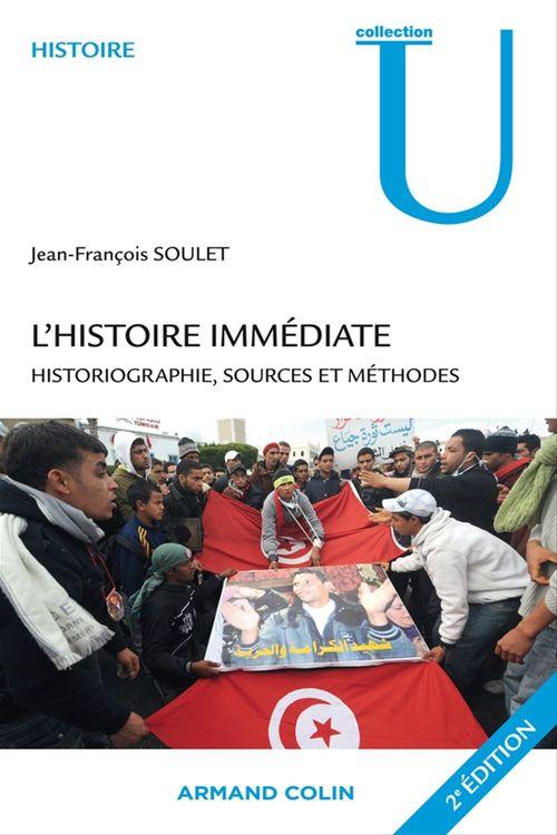 Jean-François Soulet L'histoire immédiate