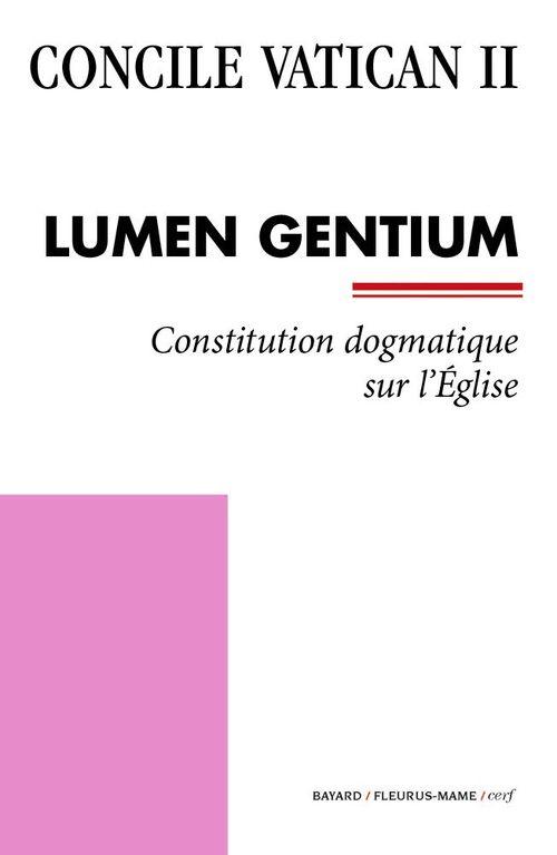 Concile Vatican II Lumen Gentium