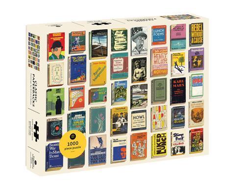 Classic paperbacks 1000 piece puzzle /anglais