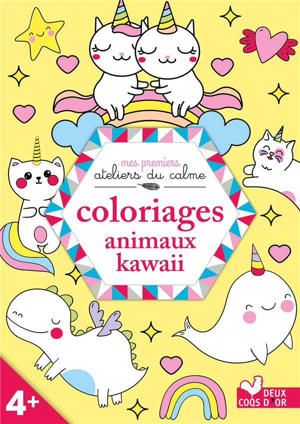 coloriages animaux kawaii