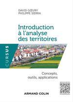 Vente Livre Numérique : Introduction à l'analyse des territoires  - Philippe Sierra - David Goeury