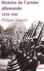 Vente Livre Numérique : Histoire de l'armée allemande  - Philippe MASSON