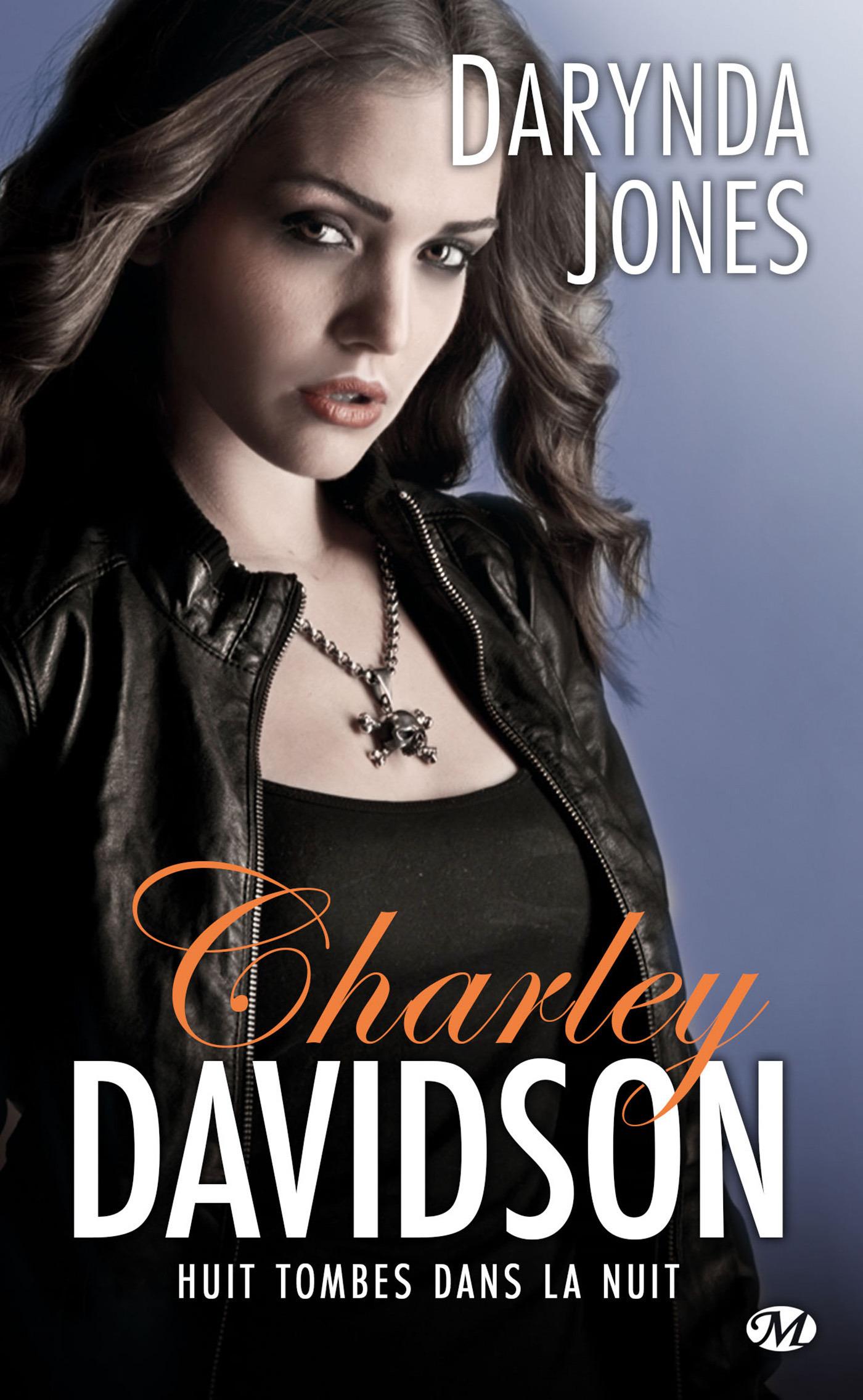 Charley Davidson T.8 ; huit tombes dans la nuit
