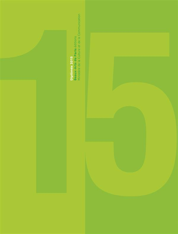 Catalogue des diplômés 2015