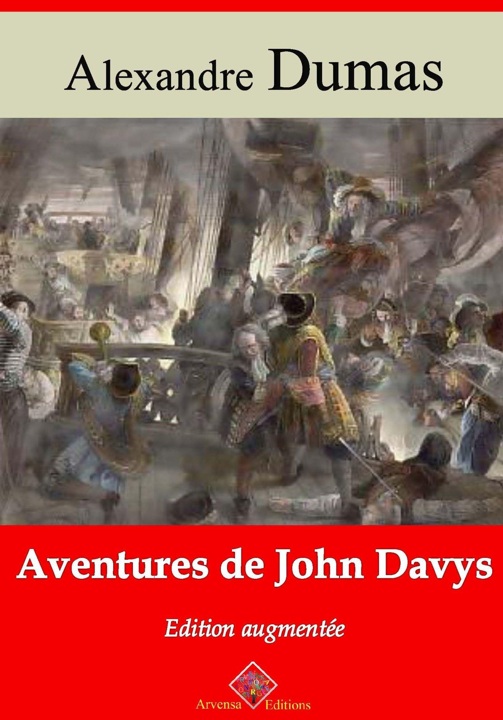Vente Livre Numérique : Aventures de John Davys - suivi d'annexes  - Alexandre Dumas