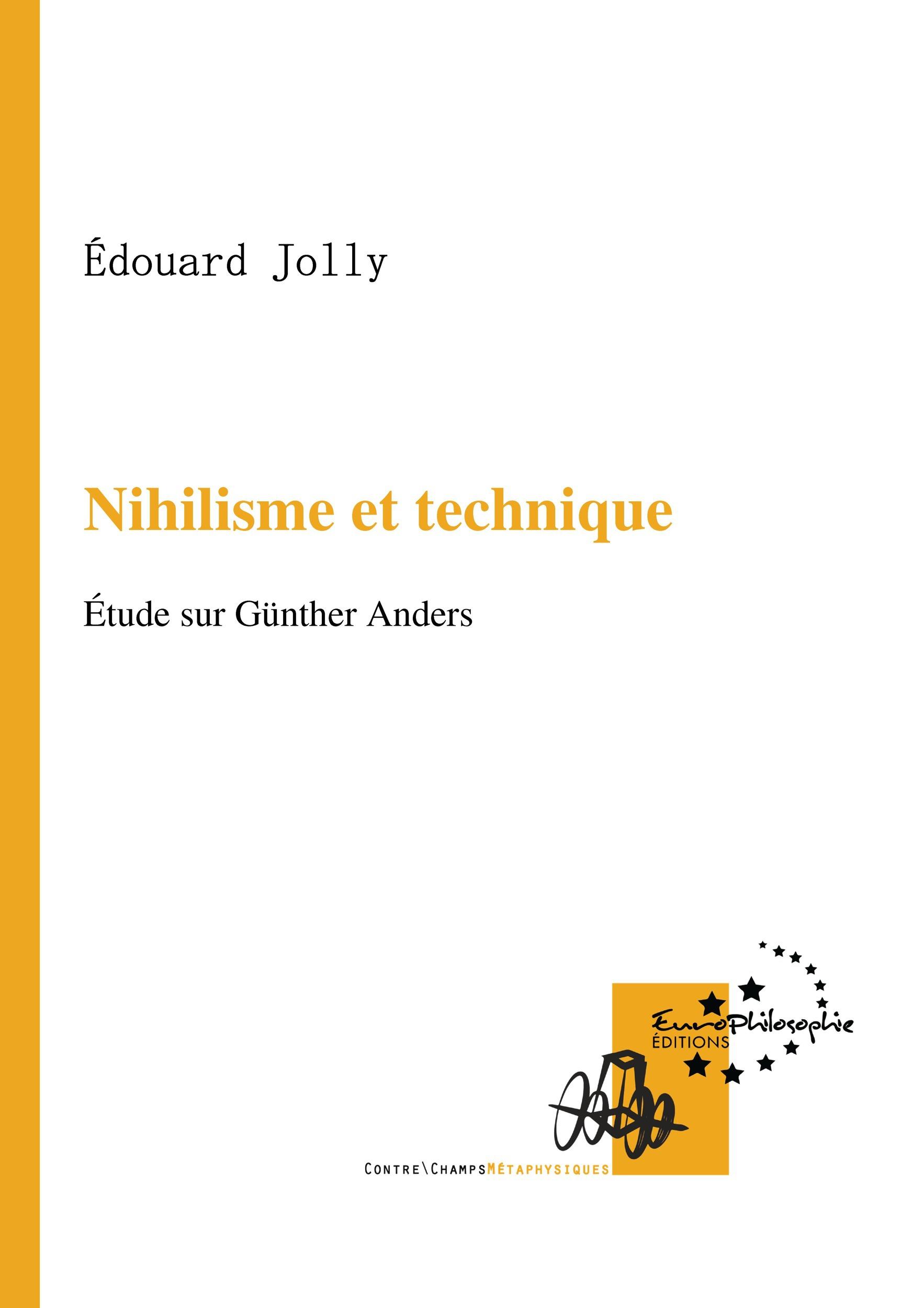 Nihilisme et technique