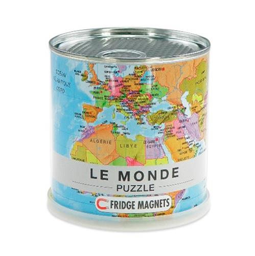 Puzzle Magnetique Monde 100 Pieces (33x23 Cm)