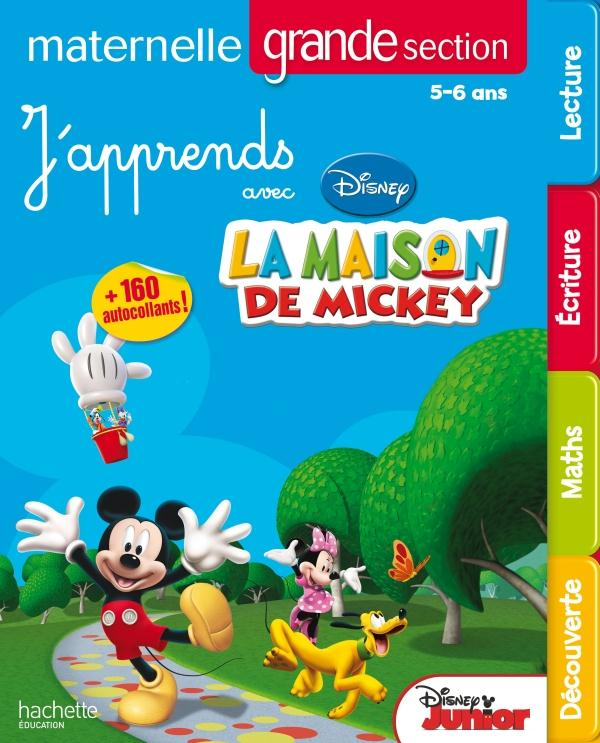 J'Apprends Avec Mickey ; Moyenne Section