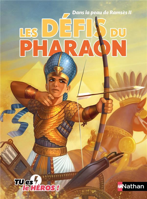 Dans la peau de Ramsès II ; les défis du Pharaon