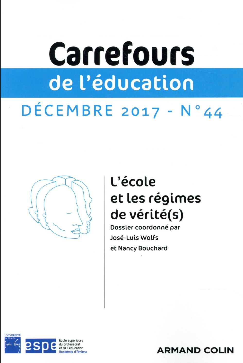 Carrefours de l'education n.44 ; 2/2017