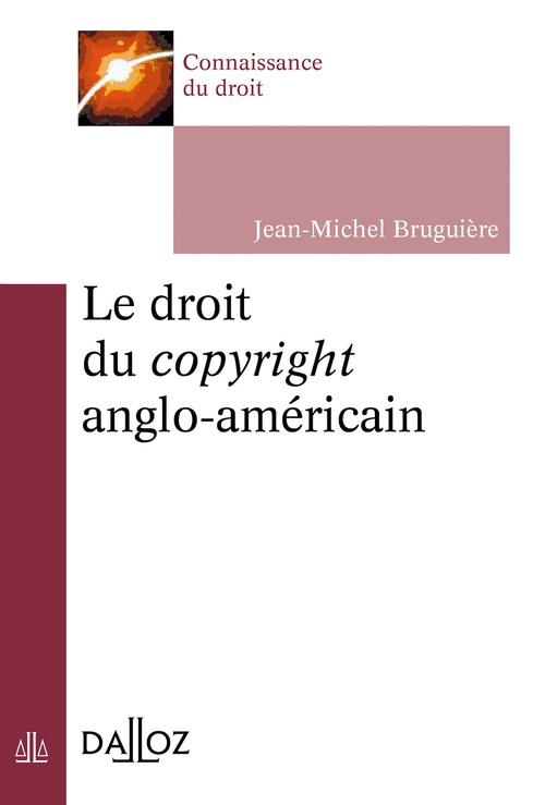 le droit du copyright
