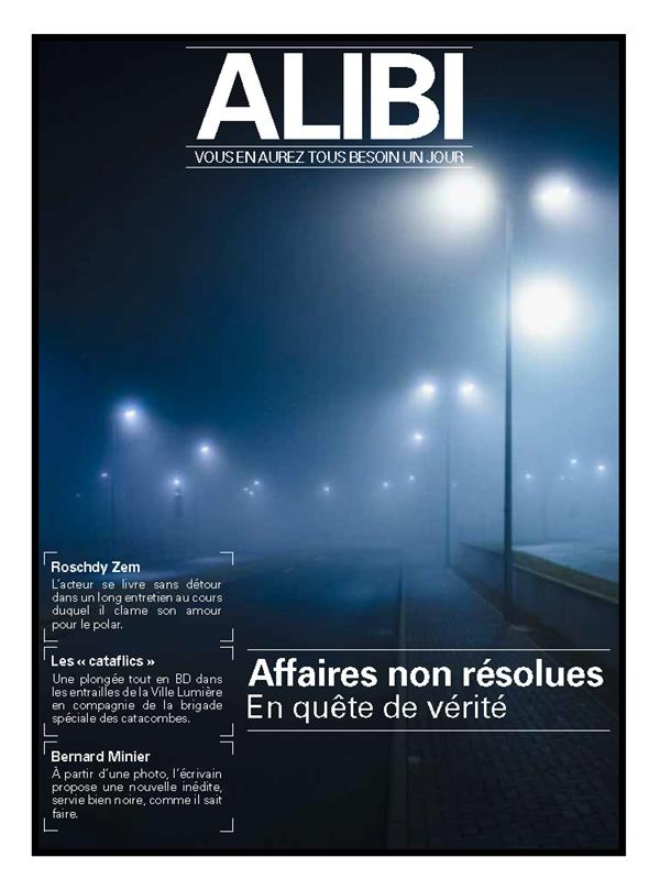 ALIBI N°1  -  LES AFFAIRES NON RESOLUES XXX