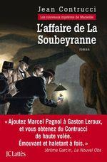 Vente Livre Numérique : L'affaire de la Soubeyranne  - Jean Contrucci