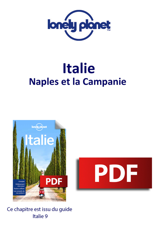 Italie - Naples et la Campanie  - Lonely Planet Eng