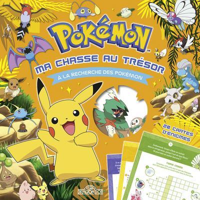 Pokémon ; ma chasse au trésor ; à la recherche des Pokémon